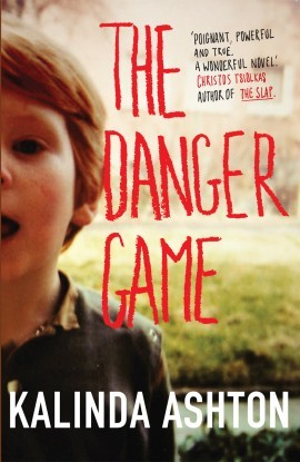 The original UK cover of *The Danger Game*.