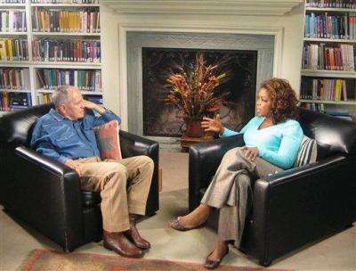 Oprah Winfrey talks to Cormac McCarthy about *The Road*.