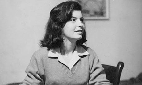 Lynn Barber as a teenager, around the time she later chronicled in *An Education*.