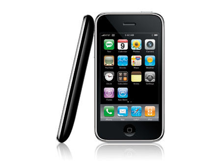 Too close for comfort? Apple's iPhone 3G.