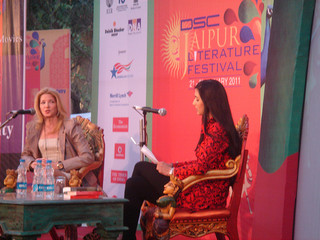 *Sex and the City* author Candace Bushnell at last year's Jaipur Literature Festival. (Credit: [U.S Embassy New Delhi](http://www.flickr.com/photos/usembassynewdelhi/5385952813/sizes/n/in/photostream/) on Flickr)