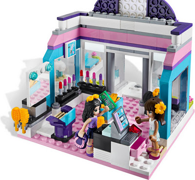 The Lego Friends Butterfly Beauty Shop