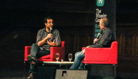Cover image for of Radiolab, Risk and Genius: Jad Abumrad and Andrew Denton