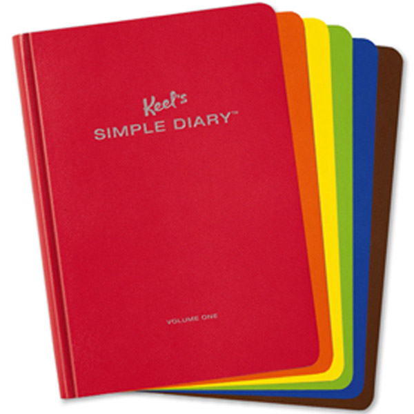 Image of Keel's Simple Diary covers via WikiCommons