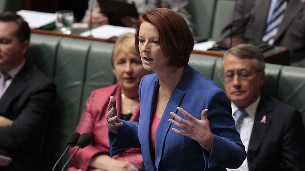 Julia Gillard's misogyny speech.