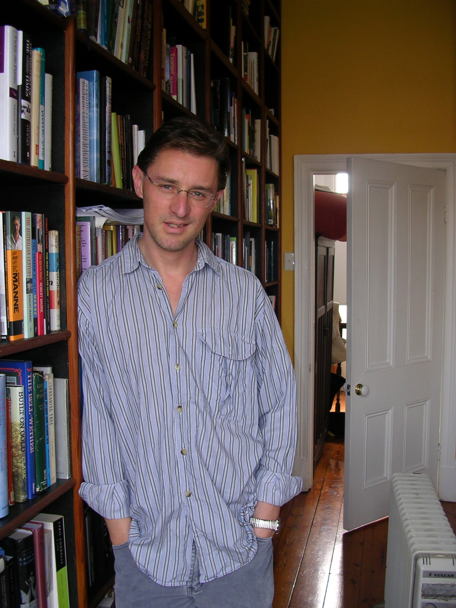 Author Gideon Haigh