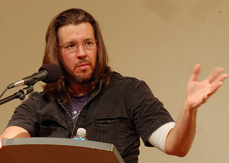 David Foster Wallace (image courtesy Steve Rhodes via Wikicommons)
