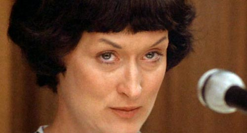 Meryl Streep as Lindy Chamberlain