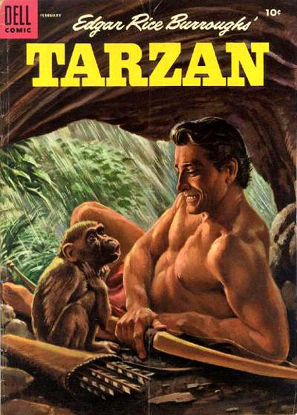 Tarzan seems to have been alone in the jungle too long.