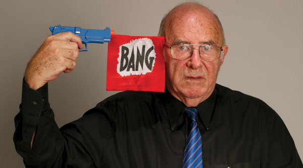 Clive James: 'Shredding a new book is a kind of fox hunting that is still legal today.'
