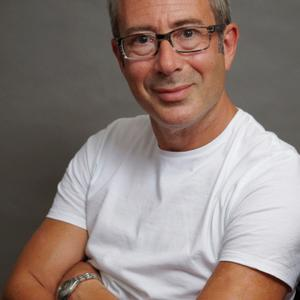 Portrait of Ben Elton
