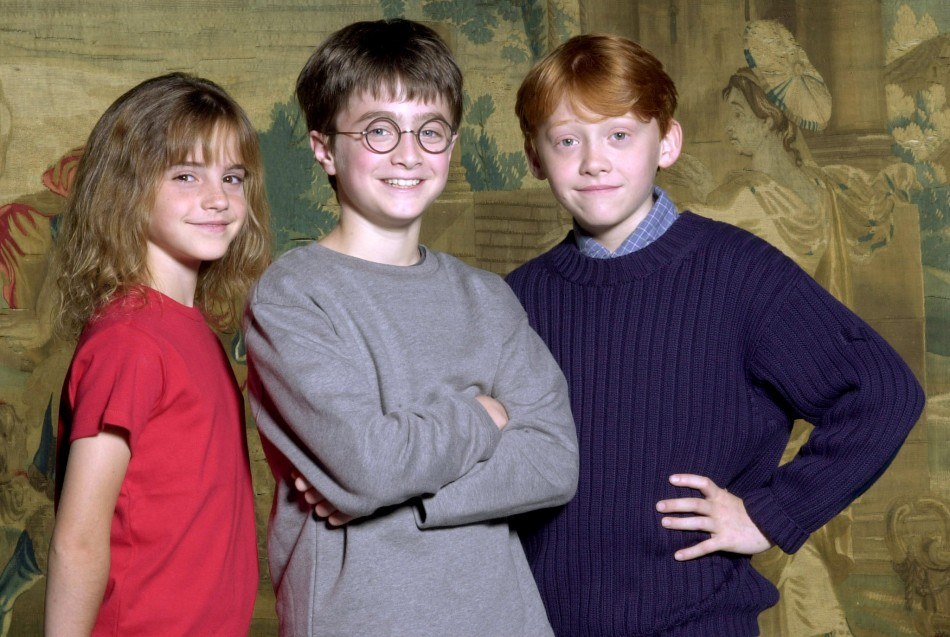 Cast photo of Harry Potter