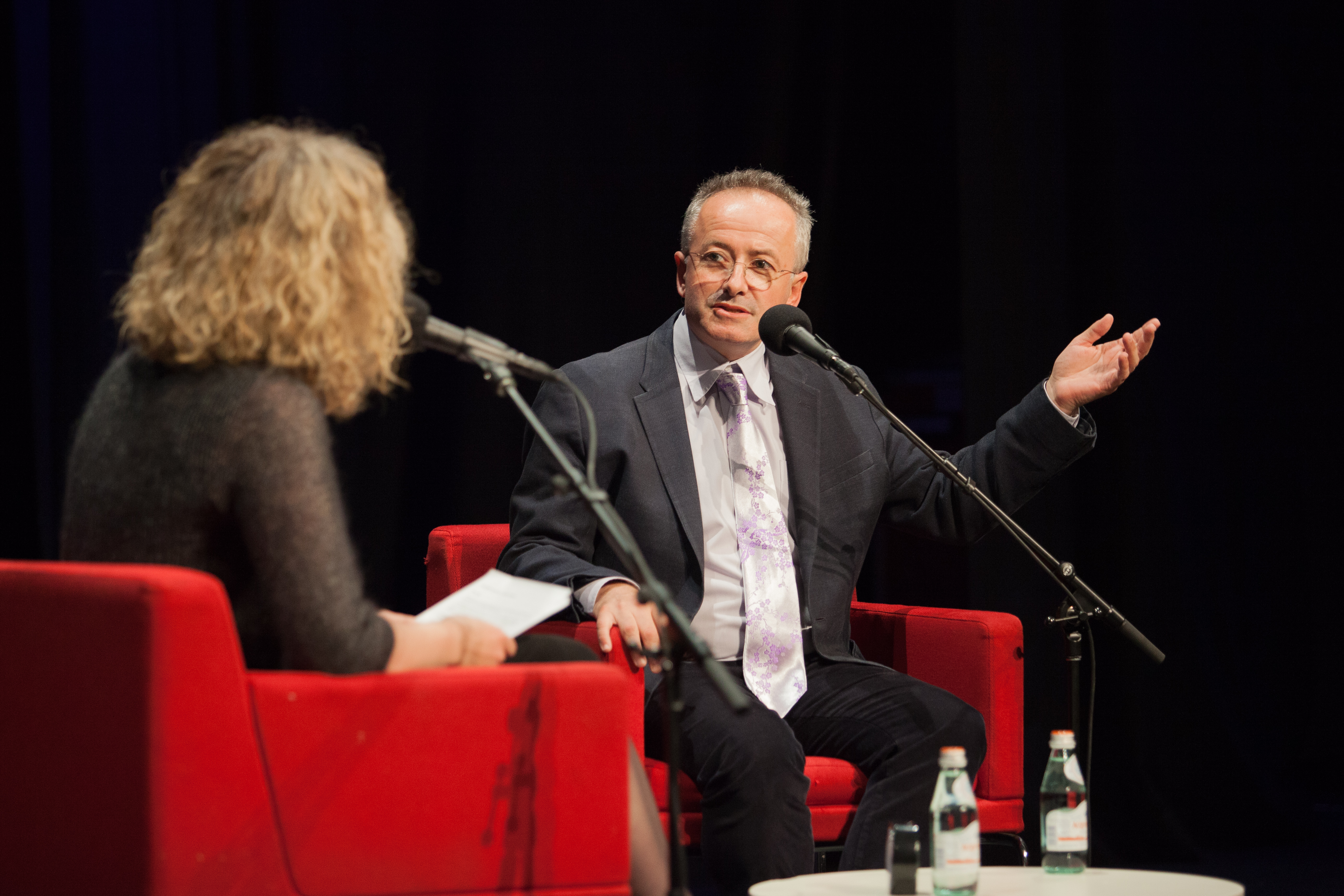 Andrew Denton in conversation with Sally Warhaft (Connor O'Brien)