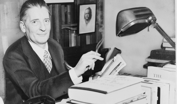 Maxwell Perkins, 'a rare beast among book editors', in that his name is known to the reading public.
