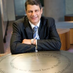 Portrait of Steve Bracks