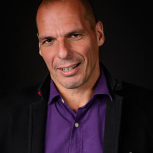 Portrait of Yanis Varoufakis