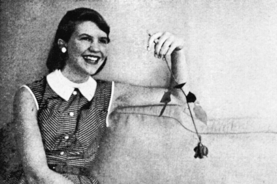 Sylvia Plath: Thought the worst thing of all 'would be to live with not writing'.