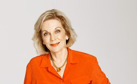 Ita Buttrose: Says the Fairfax journalists are being 'precious' about Gina Rinehart. 'I think they're frightened of a powerful woman.'