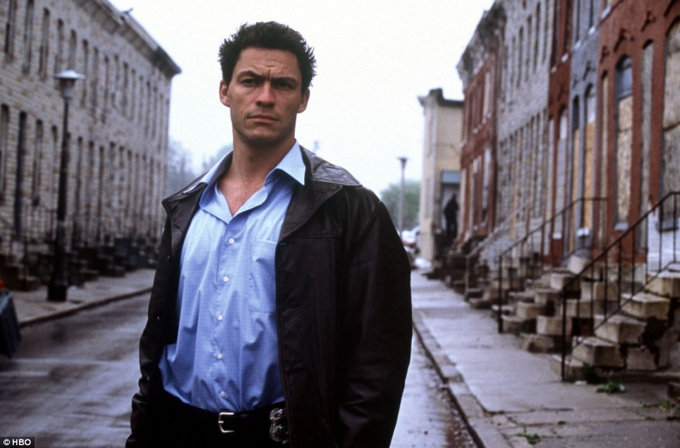 Dominic West as Jimmy McNulty.
