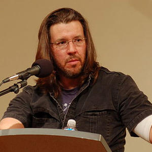 Promo image for David Foster Wallace Resurrected in Print