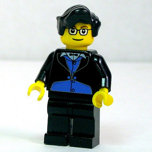Image of a Lego WB Yeats via Dunechaser/Flickr