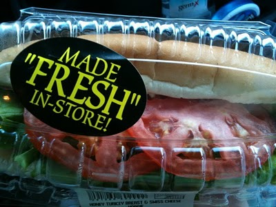 The quotation marks make this sandwich seem suspect. (From the 'Smosh' website)