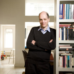 Portrait of Alain de Botton