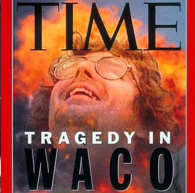 Cover image of Time magazine report on the deadly siege of the Branch Davidian compound in Waco in 1993