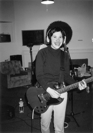 Image: Carrie Brownstein at a 'Dig Me Out' recording session in 1996