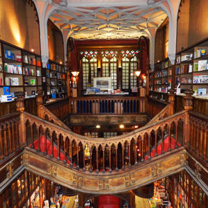 Promo image for Weird and Wonderful Bookshops of the World