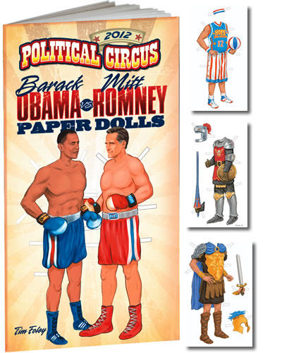 These paper dolls are really available, published by Dover Publications.