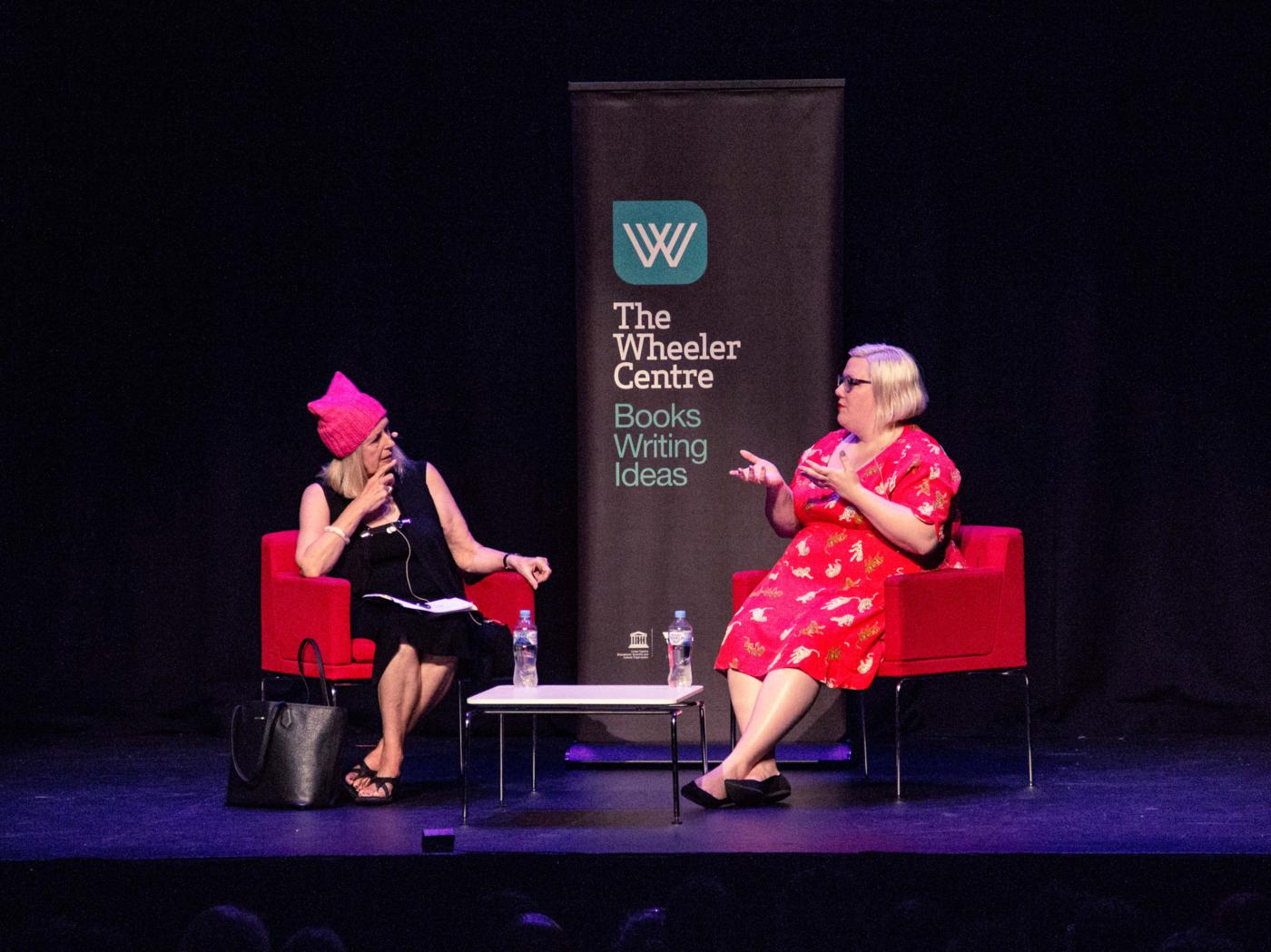 Photo of Anne Summers and Lindy West