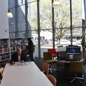 Promo image for First Look: Williamstown's New Library