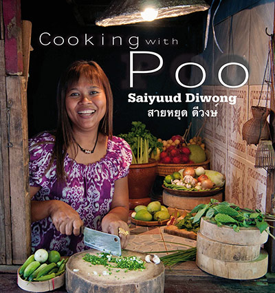 The Thai cookbook *Cooking with Poo* is up for Oddest Title of the Year: 'Poo' is Thai for crab and the chef's nickname.