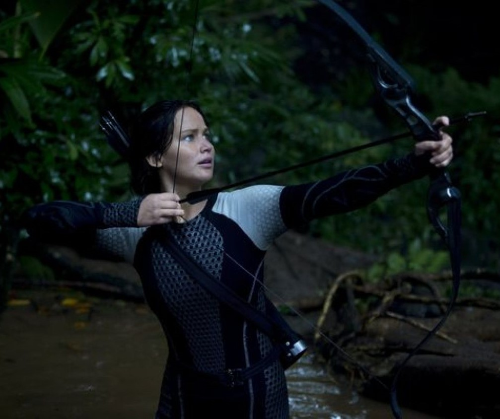 Still from the film 'The Hunger Games'
