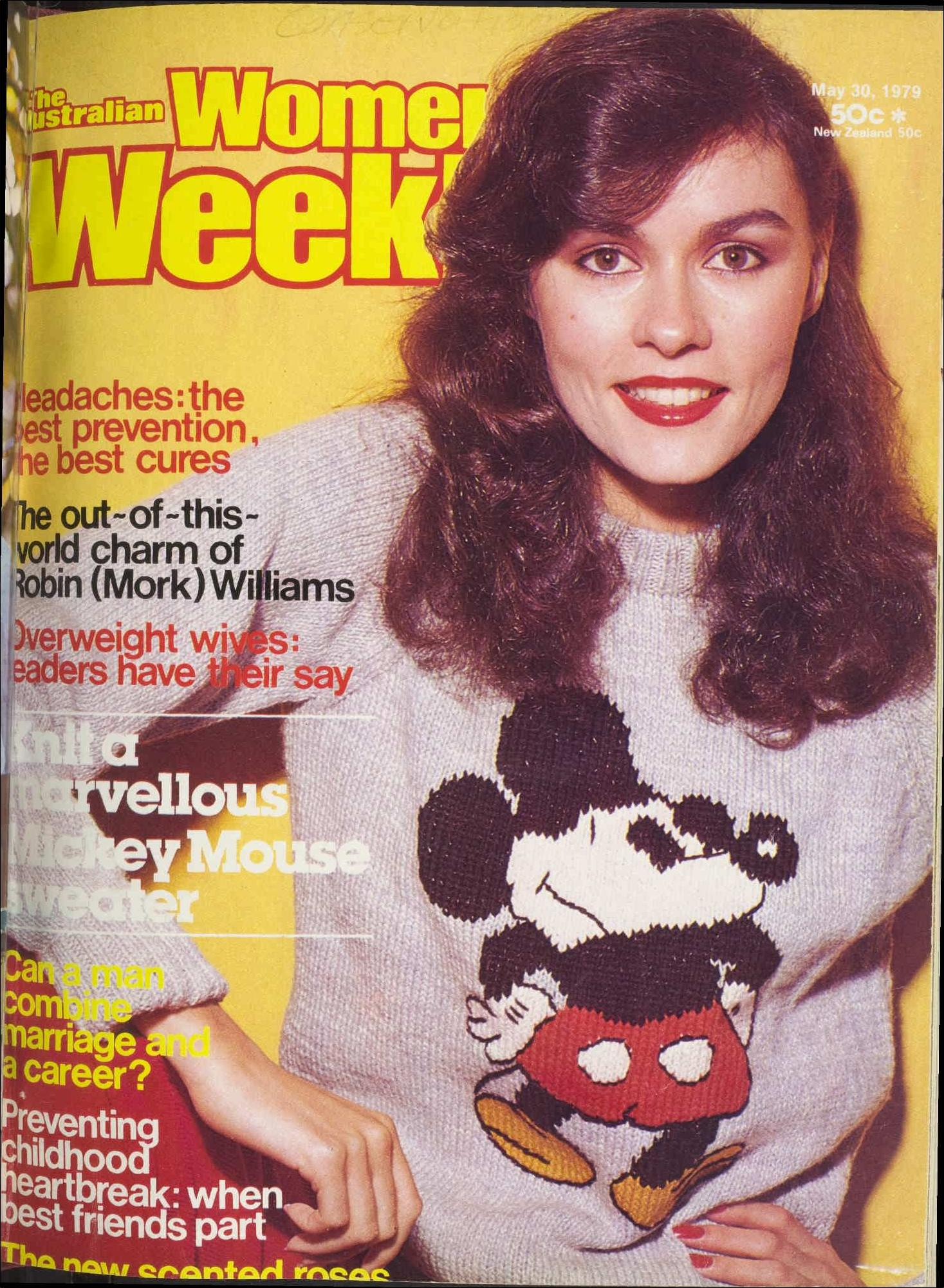 More Mickey: Inside, you can learn to knit your own Mickey Mouse jumper.