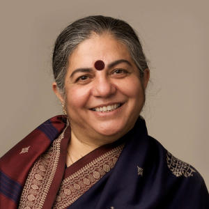 Portrait of Vandana Shiva