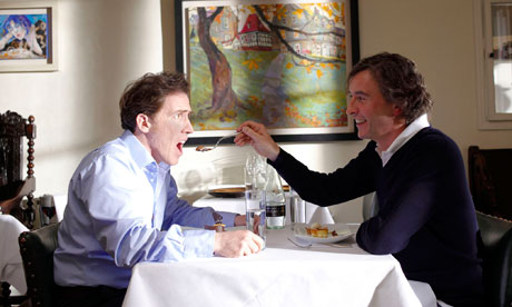 Rob Brydon and Steve Coogan bond over expensive food in *The Trip*