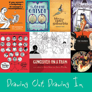 Cover image for Drawing Out, Drawing In: Spotlight on Graphic Novels