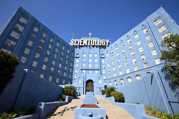 The Church of Scientology in Los Angeles.