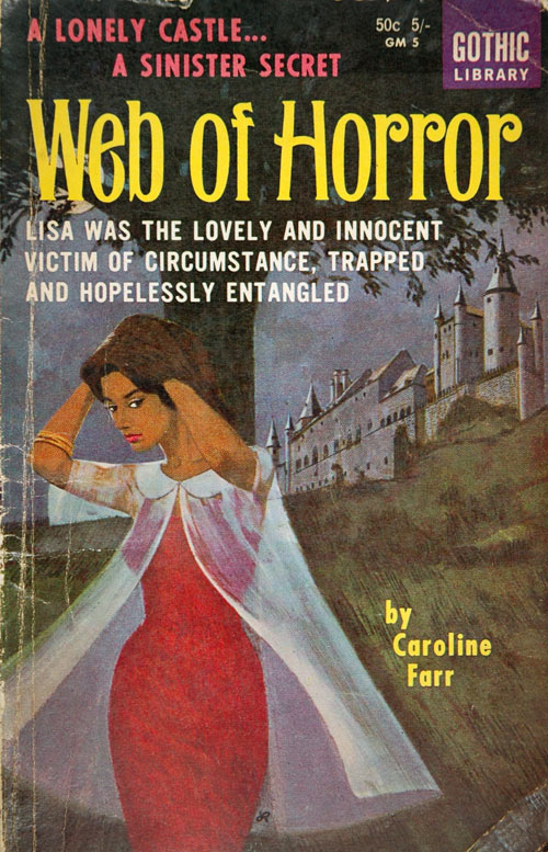 One of Ruhen's horror titles, published pseudonymously.