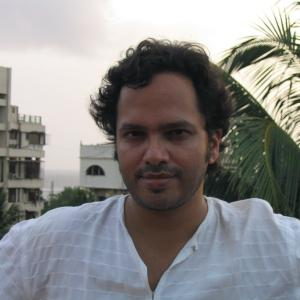 Portrait of Vikram Chandra