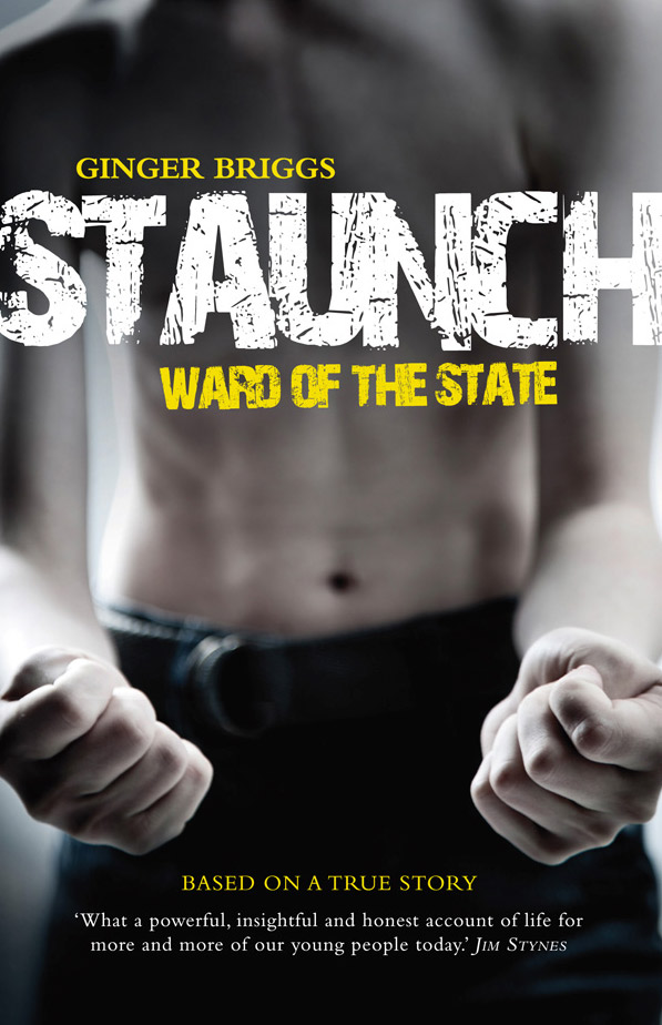 Image: Book cover for 'Staunch'