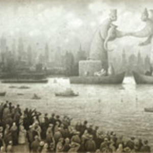 Promo image for Shaun Tan's 'The Arrival'