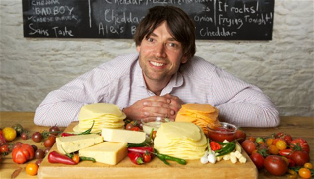 Blur bassist Alex James: 'If you go to Africa and play a Blur song, someone might have to translate. Give them cheese, though, and they can instantly taste it and react.'
