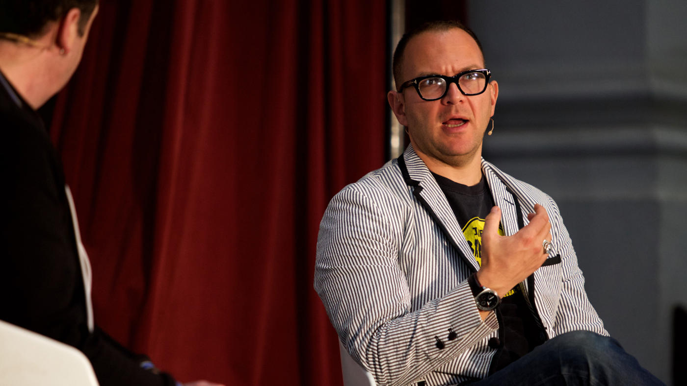 Cory Doctorow (photo by Connor Tomas O'Brien)