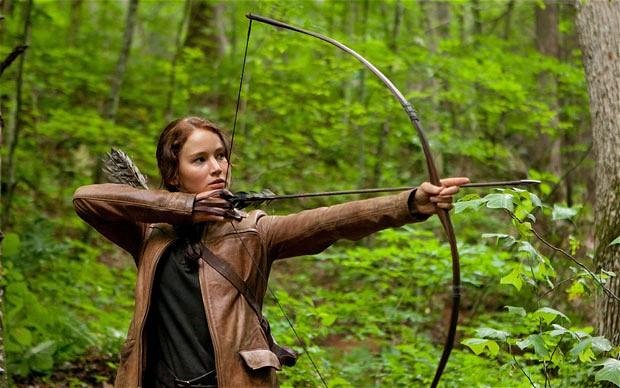*The Hunger Games*. Its success was helped by the 'pre-awareness' of fans of the bestselling novel.