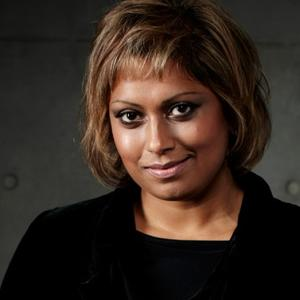 Portrait of Indira Naidoo