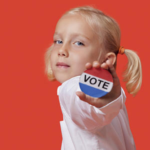 Promo image for Children on Democracy
