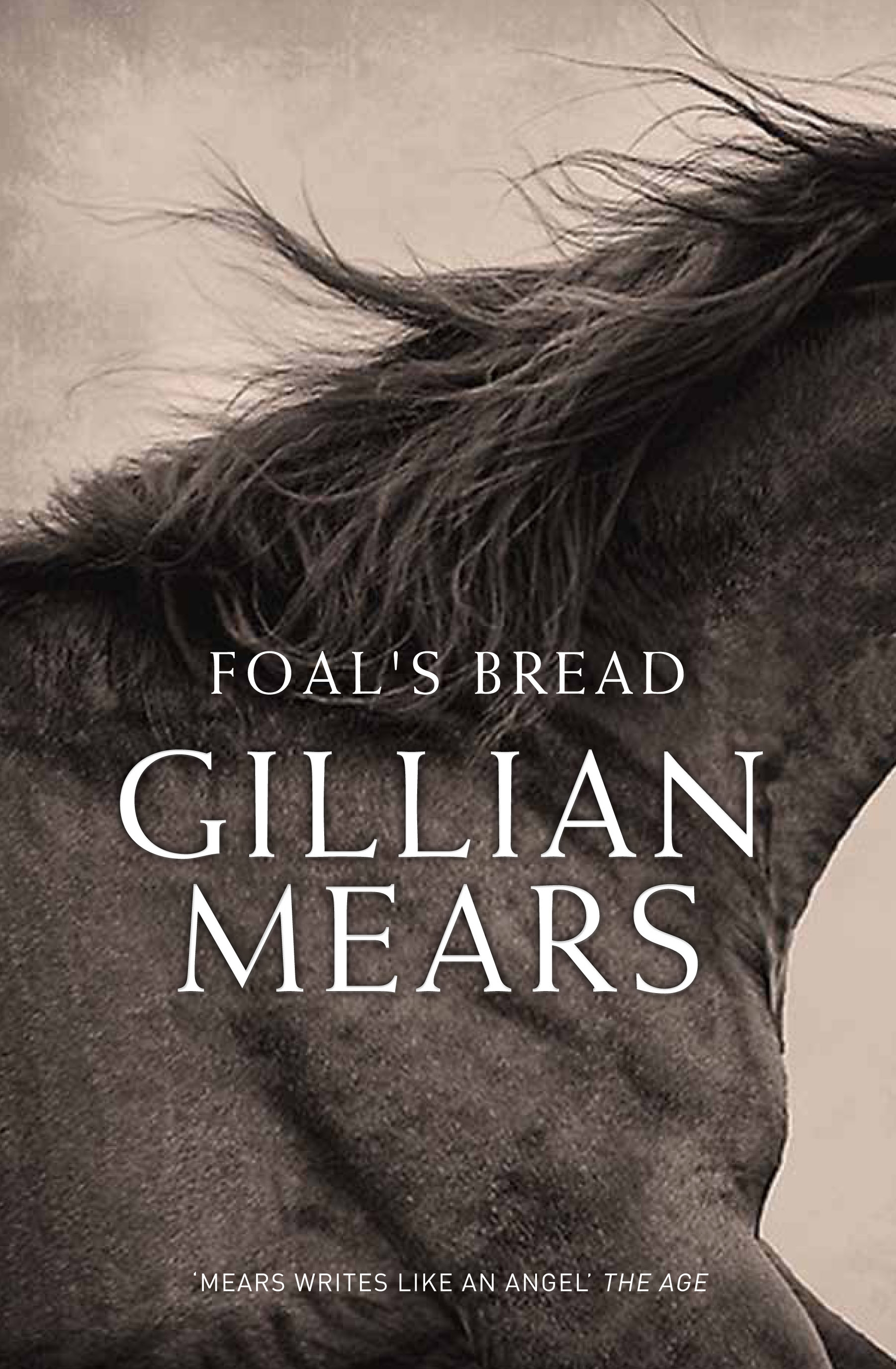*Foal's Bread*, Gillian Mears, A&U, designed by Sandy Cull, gogoGinko, and Yolande Gray.
